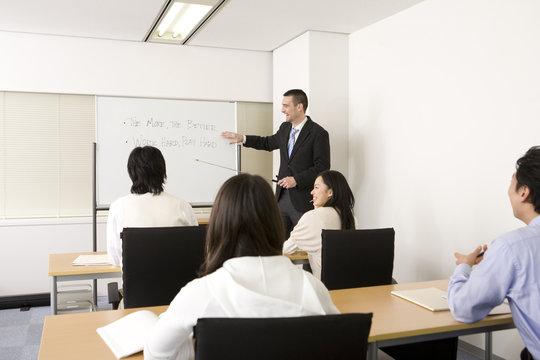 英会話の授業風景