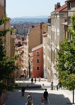 lyon croix rousse, France