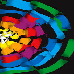 ruota di colori