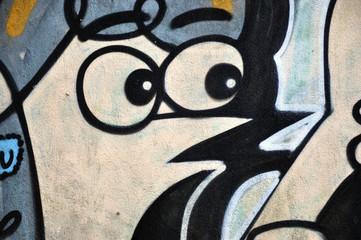 Graffiti et visage