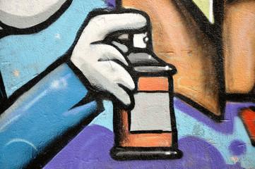 Spray pour taguer