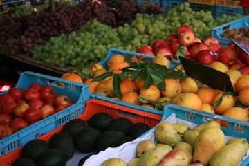 Obst auf dem Markt