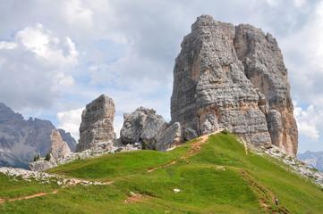 Dolomites 5 torri