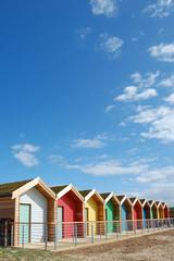 Beach Huts Blyth