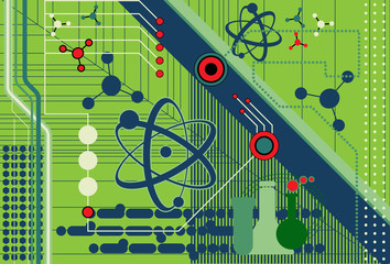 Science and Technology collage