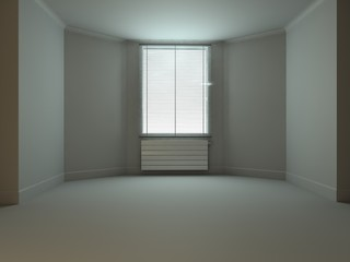 Blank Room with window