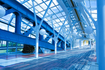 modern hall inside