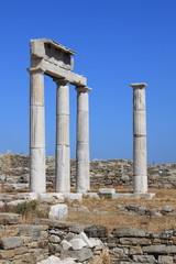 Etablissement des Poséidoniastes à Délos – Cyclades – Grèce