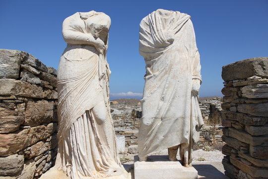 Maison de Cléopâtre à Délos – Cyclades – Grèce