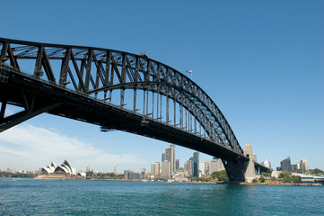 Sydney Opera House mit Habourbridge