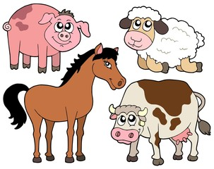 Country animals collection 2