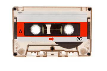 Old audio cassette