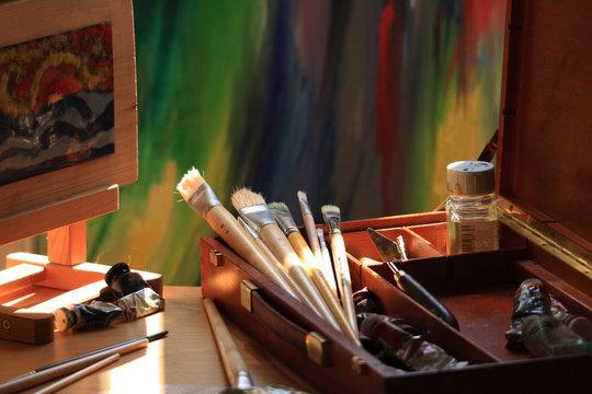 Details Malerstudio