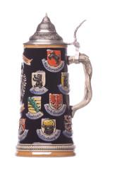 German Beer Mug Isolated