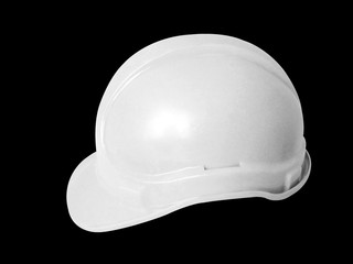Hard hat in white for technitions and managers