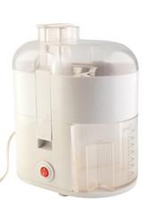 used  kitchen juicer isolated on white