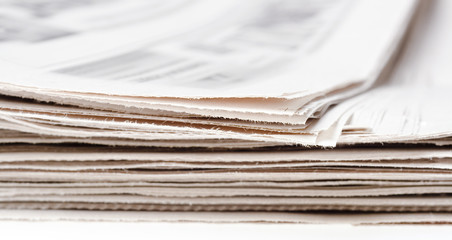 newspaper close-up