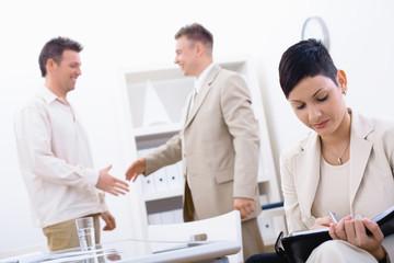 Succesful job interview