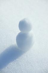 雪だるま一つ