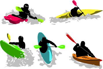 Set di Kayak