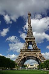 Poster Eiffeltoren paris eiffel tower