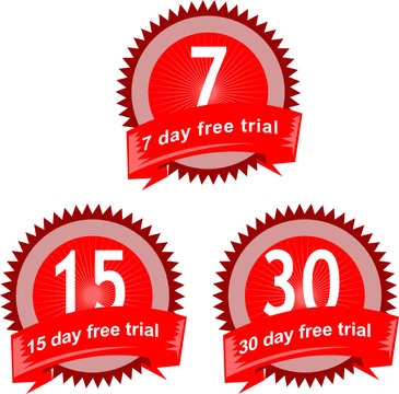 7, 15, 30 day free trial