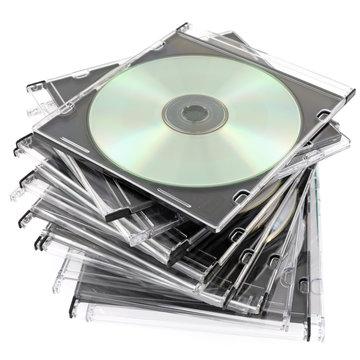 boîtes de stockage de cd