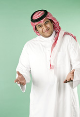 Saudi welcome