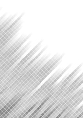 Vector abstract silver background with square; clip-art
