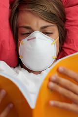 apprendre ses leçons malgré la grippe