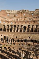 Foto auf Gartenposter Tunesien Inside of Ancient Coliseum