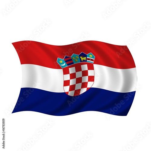 flagge kroatien stockfotos und lizenzfreie bilder auf. Black Bedroom Furniture Sets. Home Design Ideas