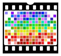 pellicola e pixel