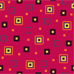 Seamless background from squares