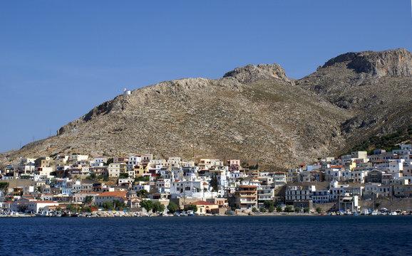 Die Stadt Kalymnos