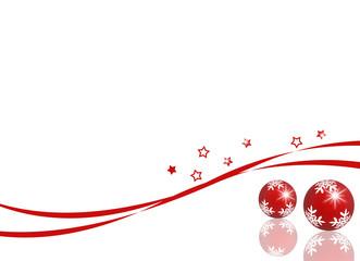 cartolina natalizia riflessa