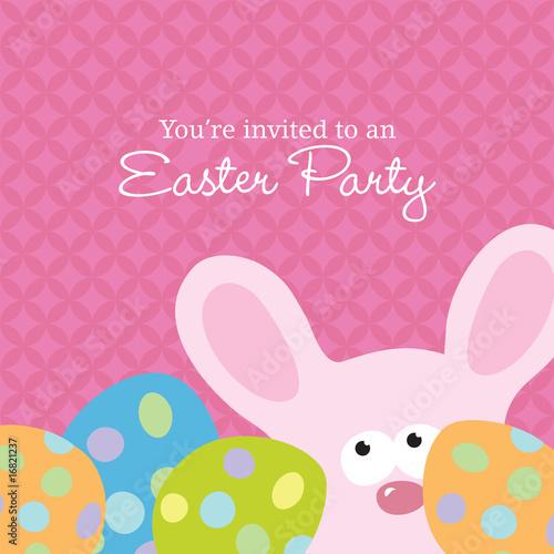 Easter Invite Template\