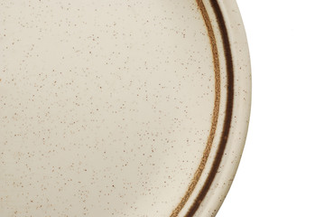 empty plate detail