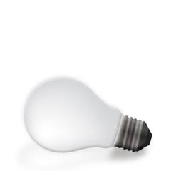 Grey light bulb