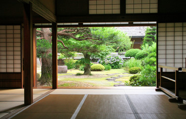 Photo sur Plexiglas Japon interieur traditionnel japon