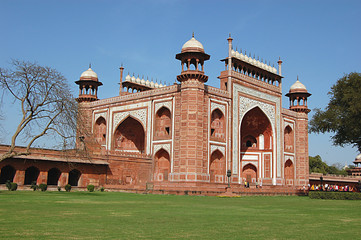 Printed roller blinds Delhi Entrance Gate of Taj Mahal