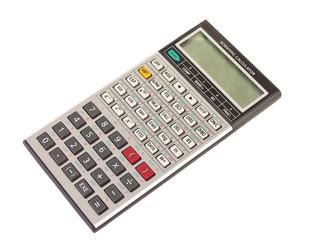 Engineering calculator isolated