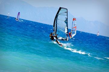 Rhodes windsurf 1