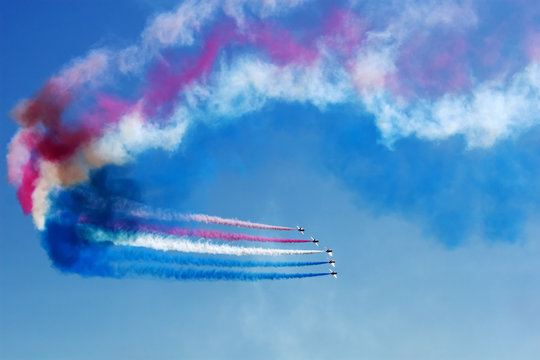 Aerobatics Team at Airshow