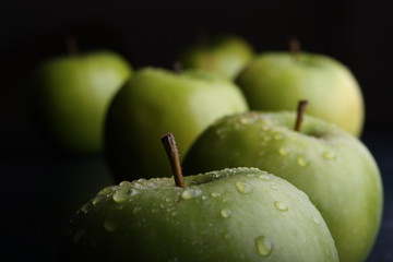 Green Apples (dark)