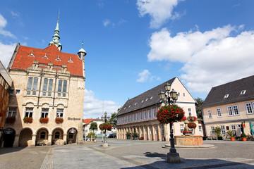 Marktplatz in Bückeburg