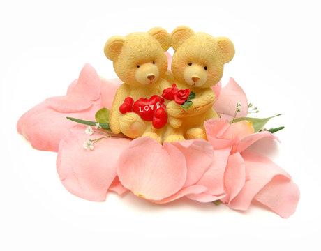 Valentines teddy bears