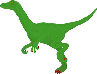 vector - dino  isolated on background