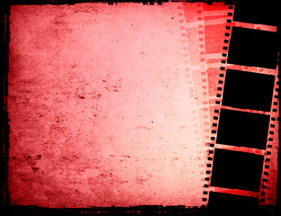 Great film strip-with space for your text and image