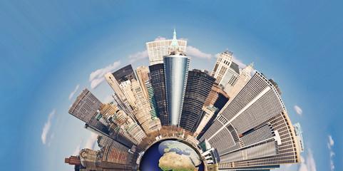 Concept de la Mondialisation